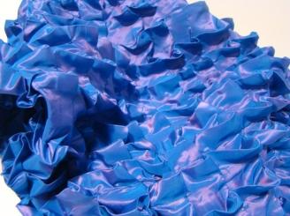 Cocodrilo 2013 Tafetán moirée cosido con algodón 60 x 74 cm (23.6 x 29.1 in)
