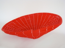 Conduit rojo 2011 Plástico ensamblado con nylon 35 x 60 Ø cm (13.8 x 23.6 Ø in)