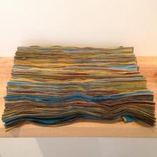Cota 2013 Tafeta ensamblada con nylon 38 x 38 cm (15 x 15 in)