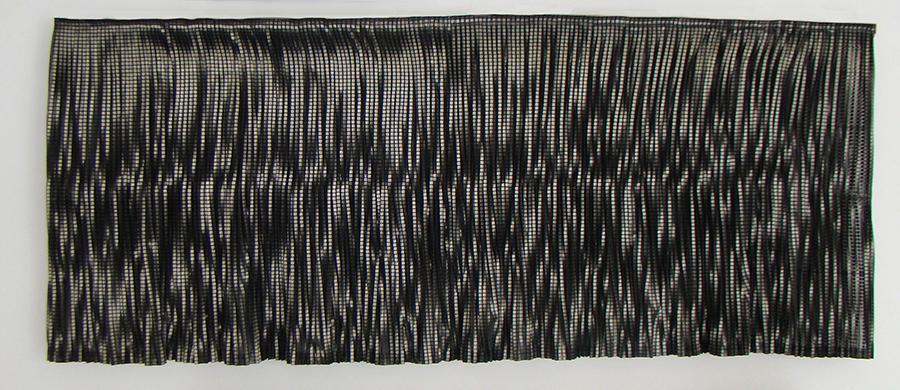 Marina Bay 2013 Tela de lentejuelas, cinta de organza y velcro 85 x 2.24 cm (33.5 x 0.9 in)