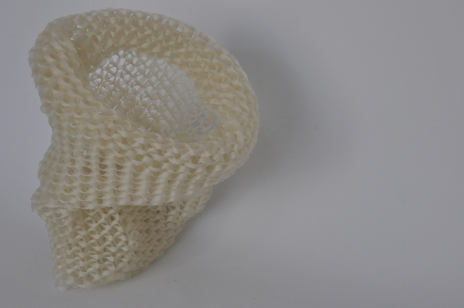 OG 2011 Cinta de nylon tejida en telar 22 x 20 Ø cm (8.7 x 7.9 Ø in)