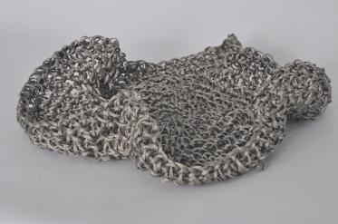 San Felipe 2011 Cordón de acero tejido a crochet 8 x 30 Ø cm (3.1 x 11.8 Ø in)